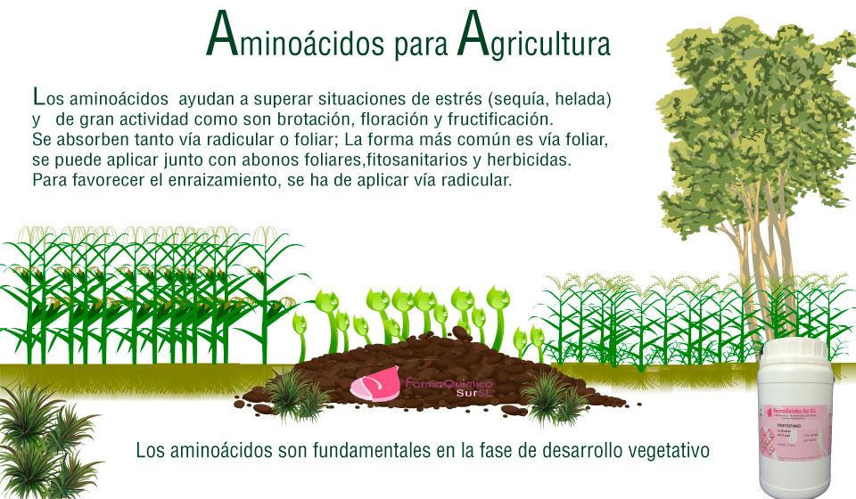 aminoácidos agricultura farmaquimicasur