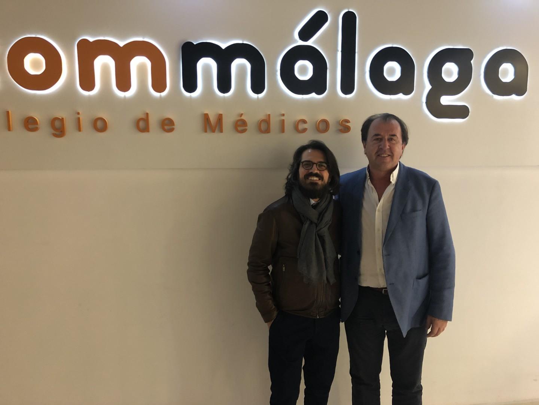 Edgar Abarca y Juan José García